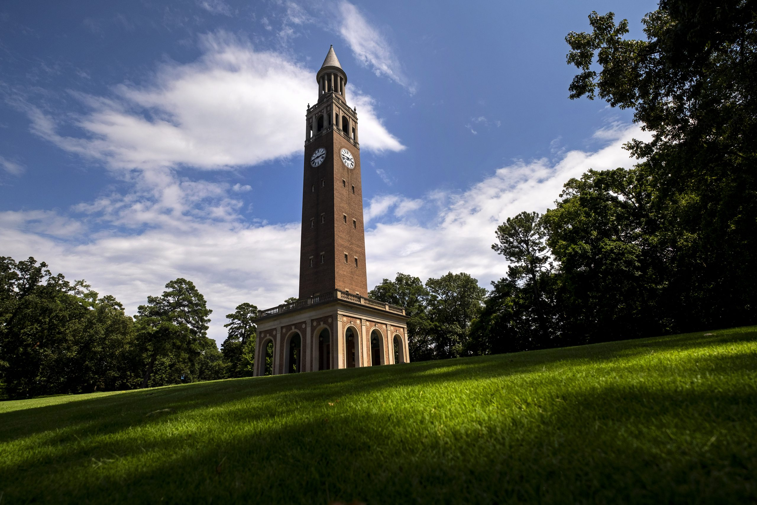 Bell tower in the sun.